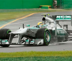 Hamilton pleased with fifth place in F1 season-opener