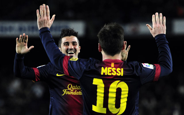 Messi, Villa fire Barcelona to a comfortable 3-1 win over Rayo Vallecano