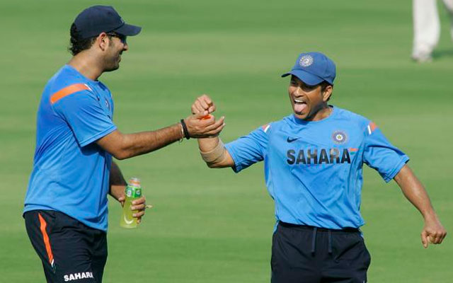 I did not want to break down in front of Yuvi: Sachin