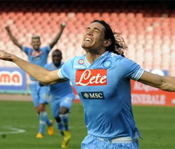Napoli want 60m pounds from Man City for Cavani