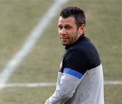 Antonio Cassano left out of Inter squad after dressing room bust-up