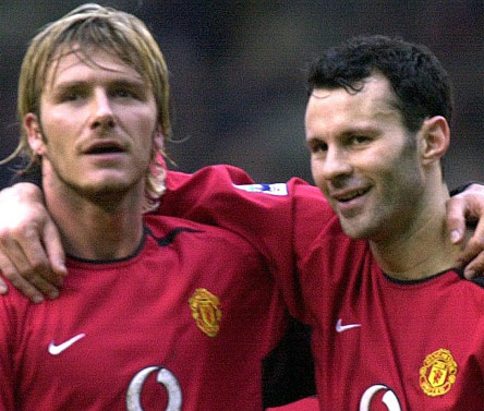 Beckham hopes to beat Giggs' 'longevity' record
