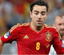 Xavi to miss Finland game but will be fit for France tie