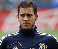 Hazard disappointed by Chelsea showing in debut season