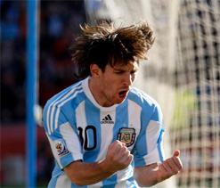 Messi says Argentina fans more fired up