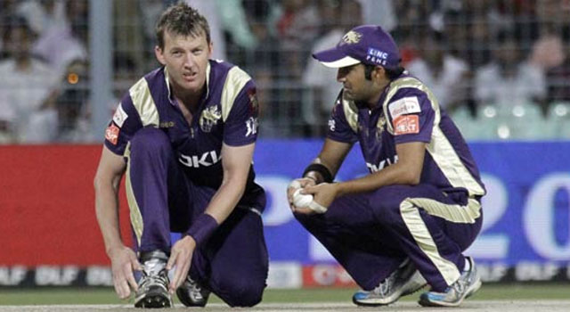Brett Lee replaces Wasim Akram as KKR bowling mentor