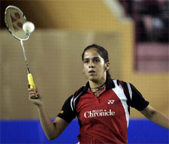 Saina drops to 3rd, Kashyap moves up to 9th in BWF rankings