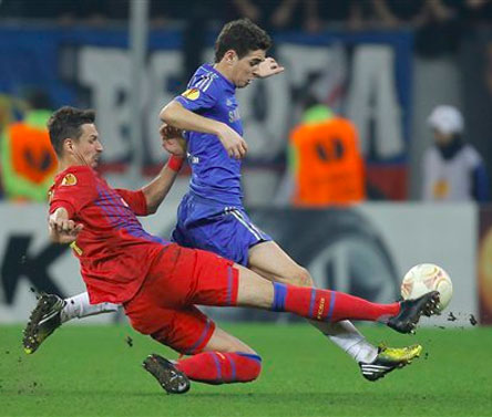 Europa Cup: Steaua Bucharest edge out Chelsea in first leg