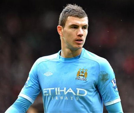 Mancini admits Dzeko could leave Man City
