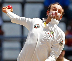 Nathan Lyon says he is not short on confidence