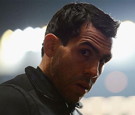 Man City striker Carlos Tevez arrested