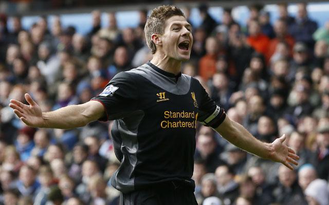 Steven Gerrard leads Liverpool to 2-1 win over Aston Villa