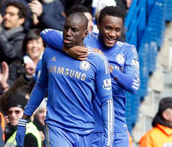 Chelsea vs Manchester United: Brilliant Ba books another Wembley date for Blues