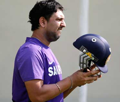 Yuvraj to miss tie against Hyderabad