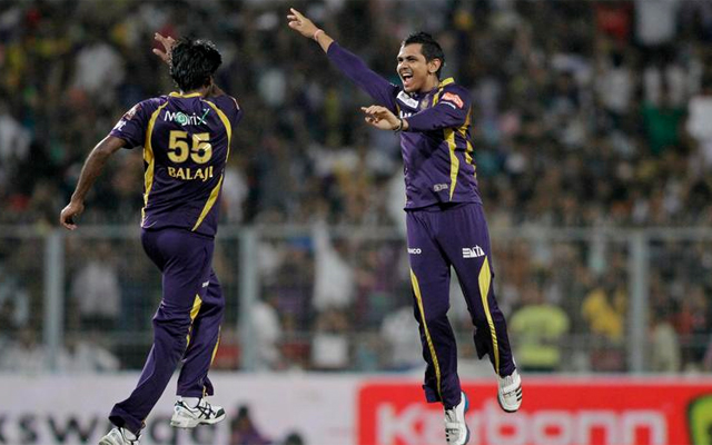 Sunil Narine claims his first IPL hat-trick