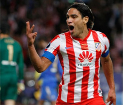 Falcao plays down Manchester United links