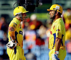 Dhoni`s presence makes it easier for other batsmen: Hussey