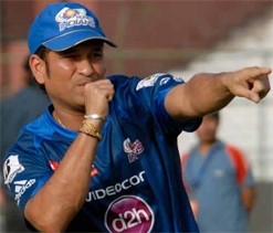 Injury scare for Tendulkar ahead of match against Royal Challengers Bangalore