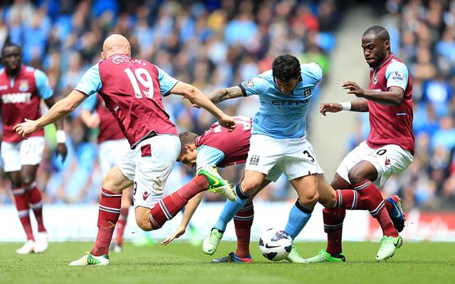 EPL: Aguero, Toure soothe Man City`s title pain
