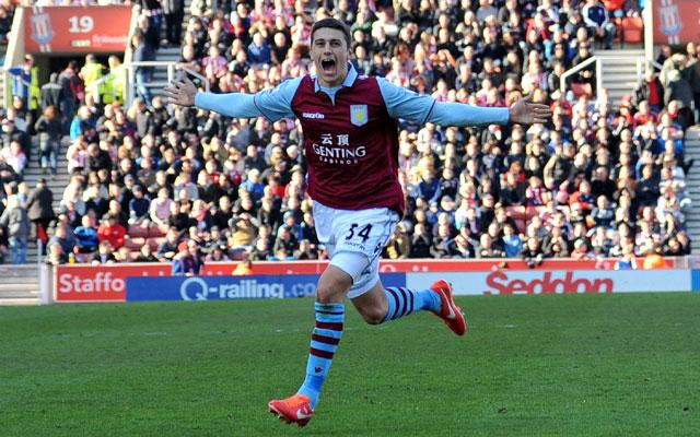 Aston Villa beat Stoke City 3-1 in EPL