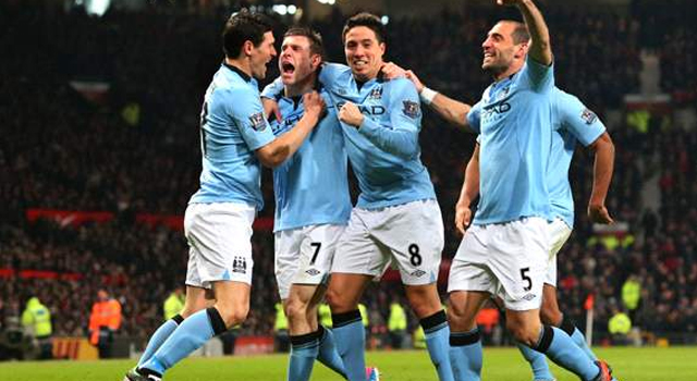 Man City 2-1 Man United: Late, great Aguero strike settles cagey derby