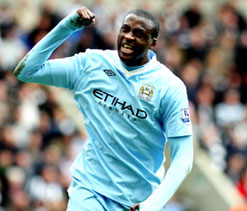 Toure hopes Fergie`s exit will boost Man City`s title chances next season