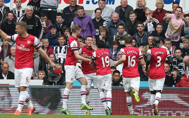 EPL: Koscielny strikes to seal Champions League berth for Arsenal