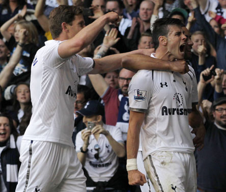 EPL: Bale's late strike leads Tottenham to 1-0 win over Sunderland