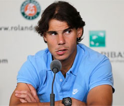 Nadal complains about cold weather in Paris