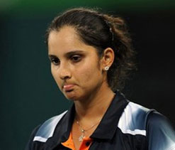 Sania-Lindstedt crash out in first round of mixed doubles