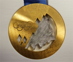 Russia unveils Sochi 2014 Winter Olympic medals
