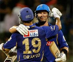 IPL 6: Watson in awe of `amazing` Dravid