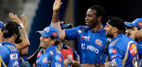 IPL 6: Mumbai Indians thrash KKR, move to second spot in points table