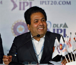 IPL Chairman Rajiv Shukla  resigned