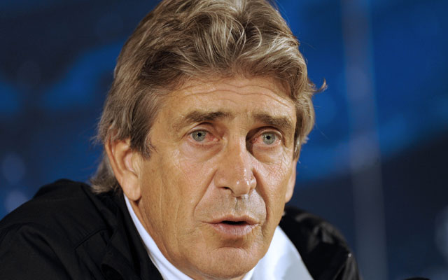 Manuel Pellegrini named Manchester City coach