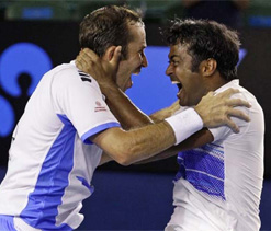 Paes-Stepanek seeded fourth at Wimbledon