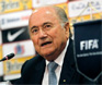 Brazil protests will calm down, Blatter hopes