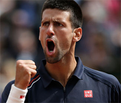 Djokovic ditches Wimbledon favourite strawberries and cream in title quest