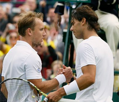 Wimbledon 2013: Darcis inflicts first round loss on Nadal