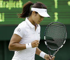 Li Na beats Michaella Krajicek in Wimbledon first round