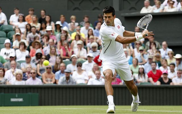 Novak Djokovic into Wimbledon second round