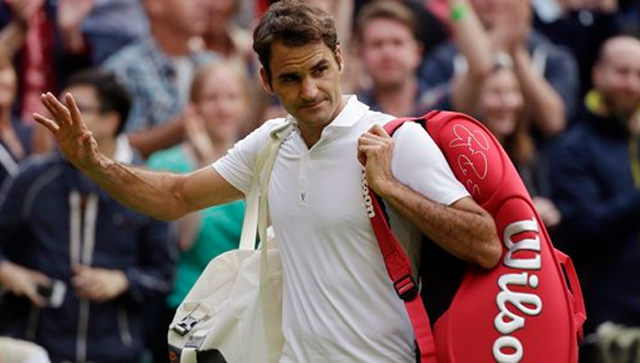 Roger Federer crashes out in second round of Wimbledon