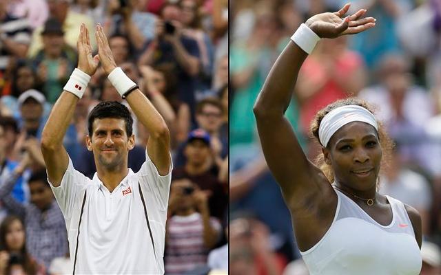 Novak Djokovic, Serena Williams target Wimbledon last-16