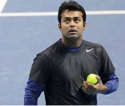 Paes, Jelena in mixed doubles 2nd round of French Open