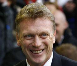 David Moyes starts job at Manchester United