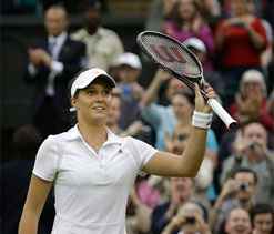 Serena Williams is a fan of Laura Robson