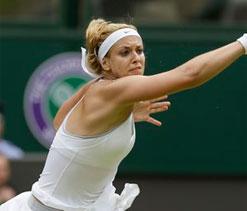 Lisicki ends Serena`s reign as Wimbledon champion