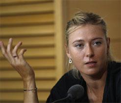 Sharapova splits from coach Hogstedt