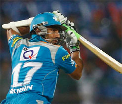 Uthappa slams double ton