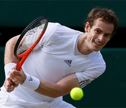 Murray vows to play through pain barrier `till he can`t hold racquet` to win Wimbledon
